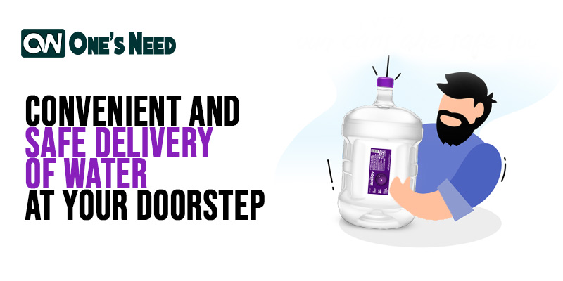 Convenient and Safe Delivery of Water at Your Doorstep